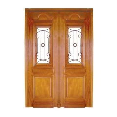 Porta Dupla De Madeira Maciça MD650