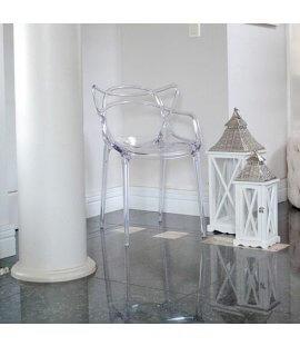 Cadeira Allegra Transparente