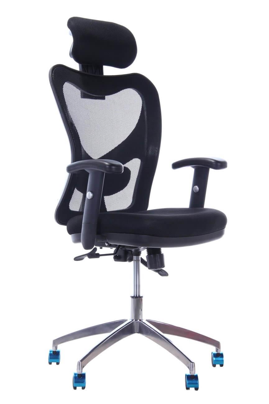 Cadeira Escritório Ergo Base Alumínio