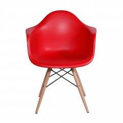 cadeira com braço vermelha 1