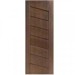 Porta de Madeira Maciça BBB Diagonal Padrão Imbuia