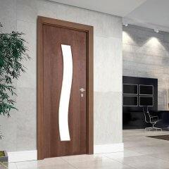 Porta Decorativa de Madeira Sólida Ref15