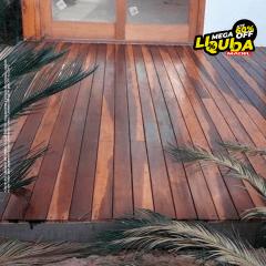 Deck de Madeira Ipê Stander liso