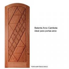 Batente Arco Cambota de Madeira