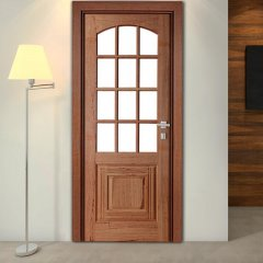 Porta de Madeira Maciça Nipônica