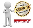 Imagem alerta Garantia Pisos e Esquadrias