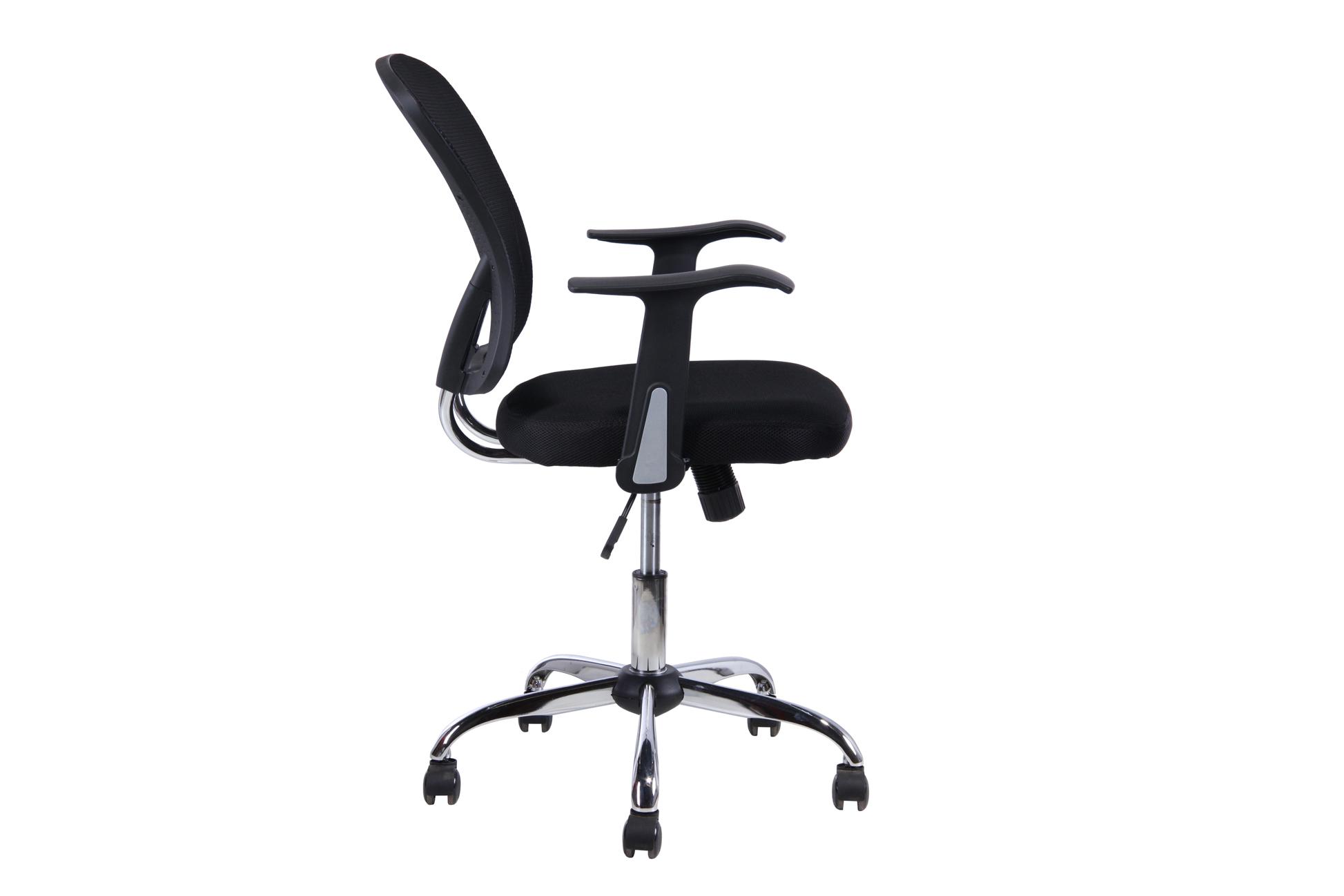 Cadeira Escritório Desk Base Cromada