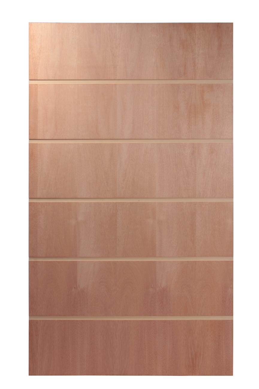 Porta Painel Frisado de Madeira PV05