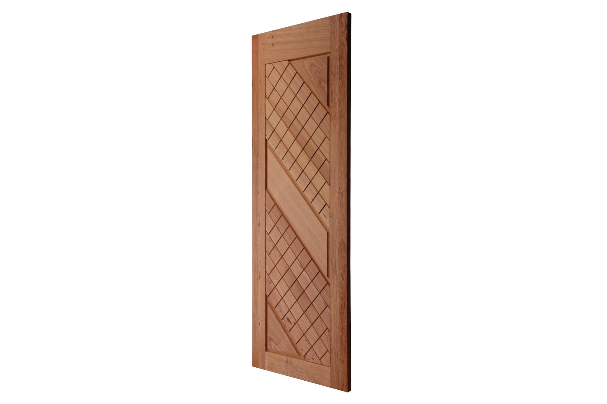 Porta De Madeira Maciça Crivel Angelim