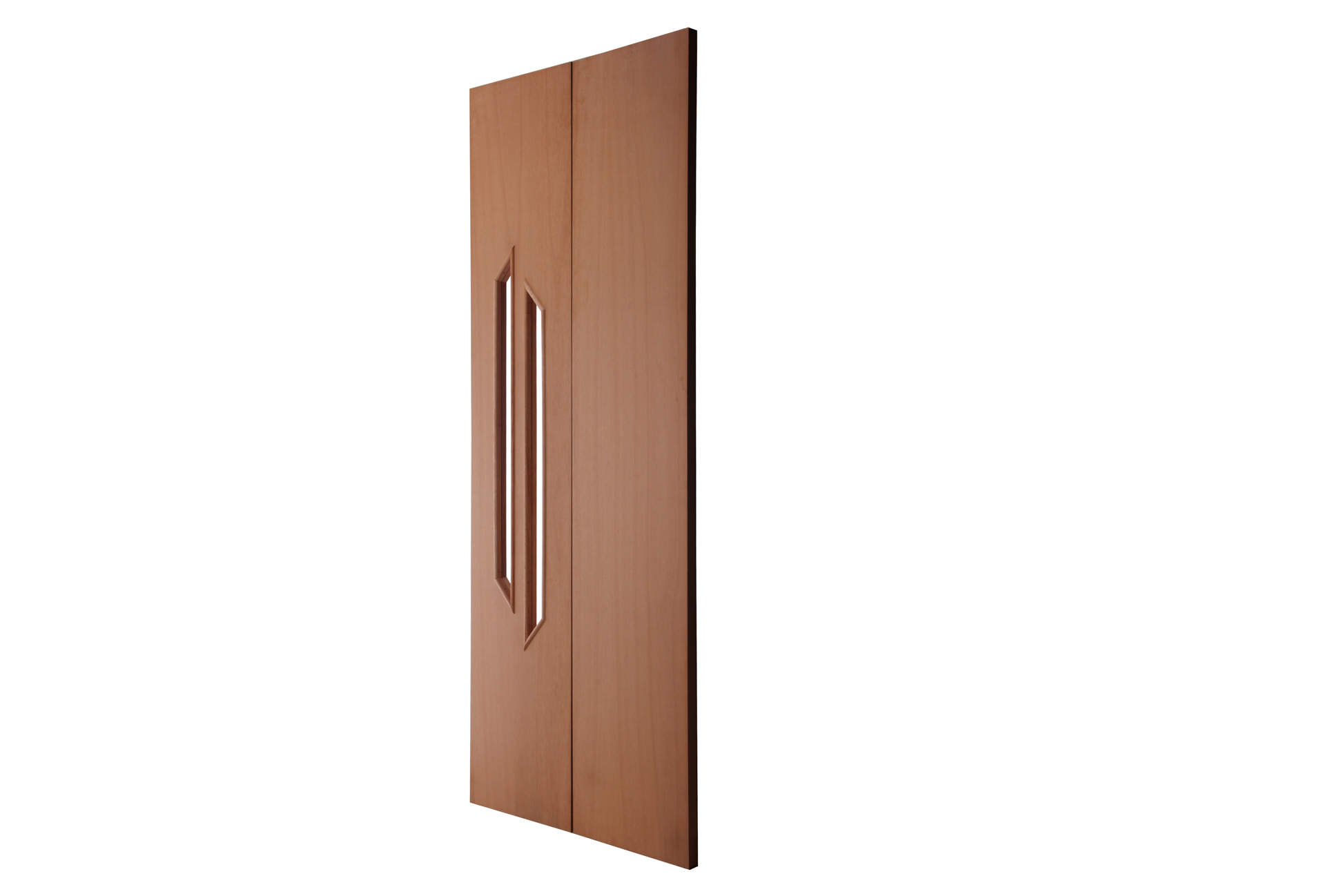 Porta Decorativa de Madeira Sólida Rafim