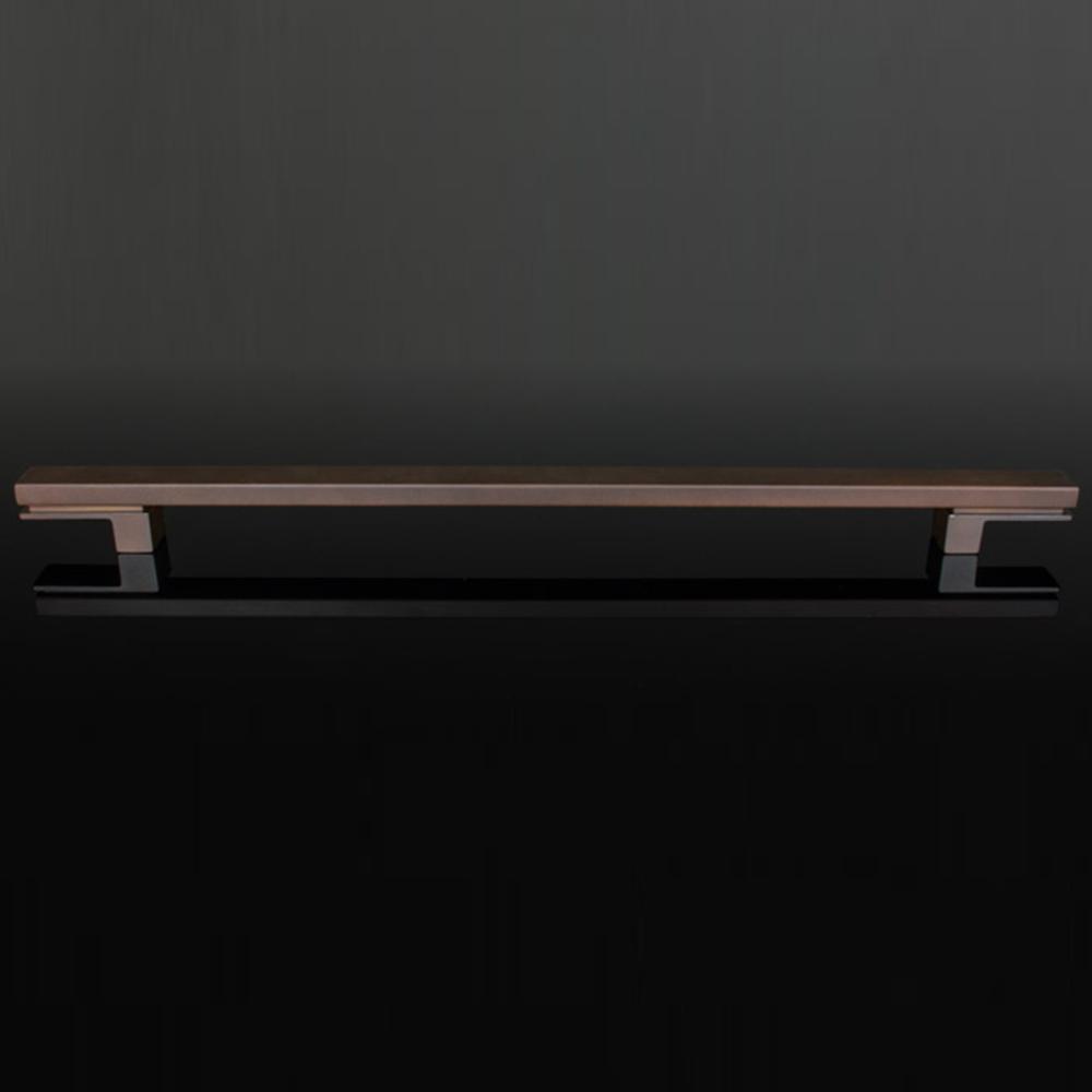 Puxador Living 500Mm Zen Vecchio Metallo (Par)