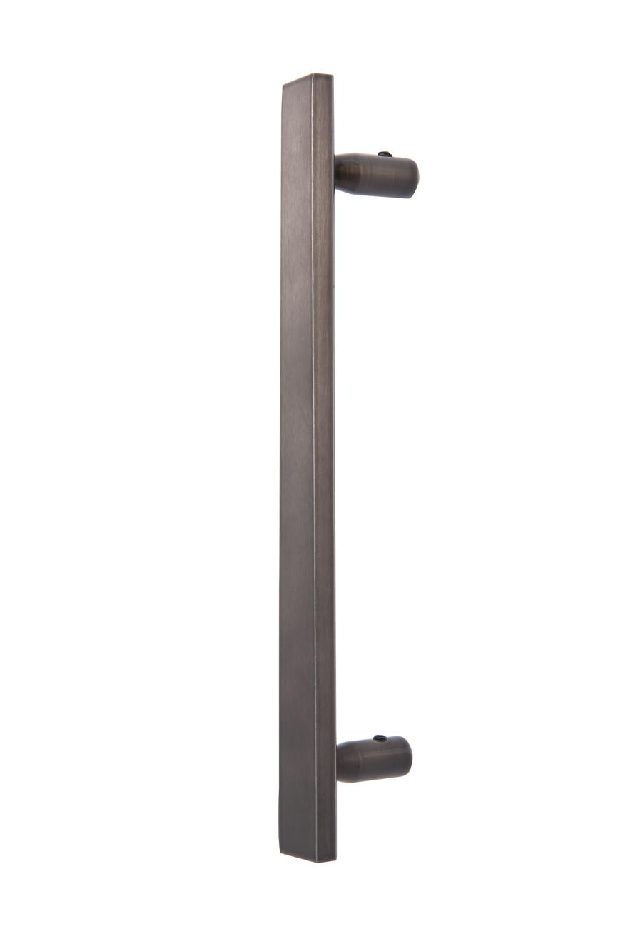 Puxador Duplo Aço Inox JQ-603A (Par)