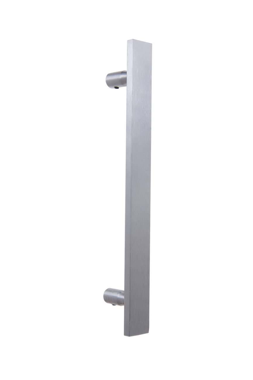 Puxador Duplo Aço Inox JQ-310 - Monaliza (Par)