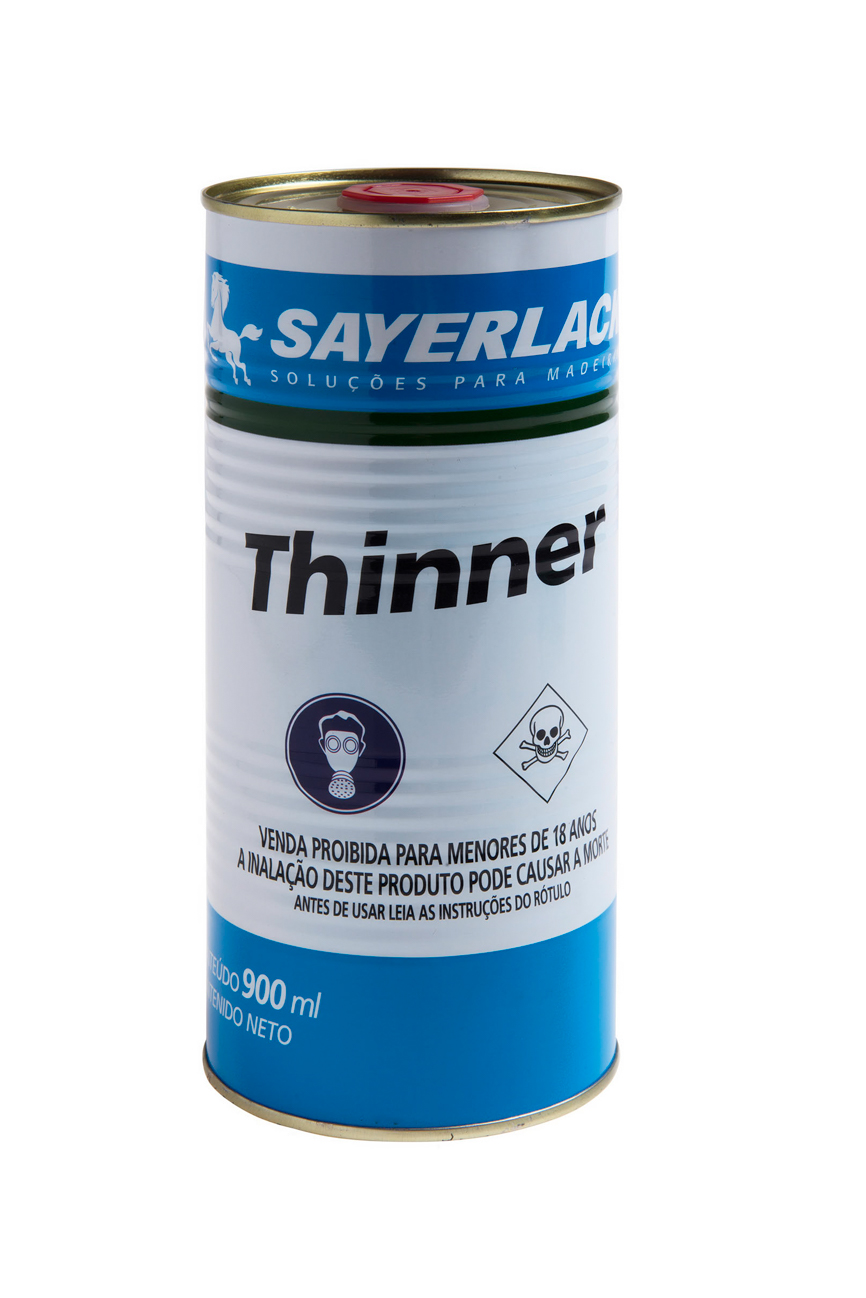 Thinner Profissional Lata 0,900 Ml
