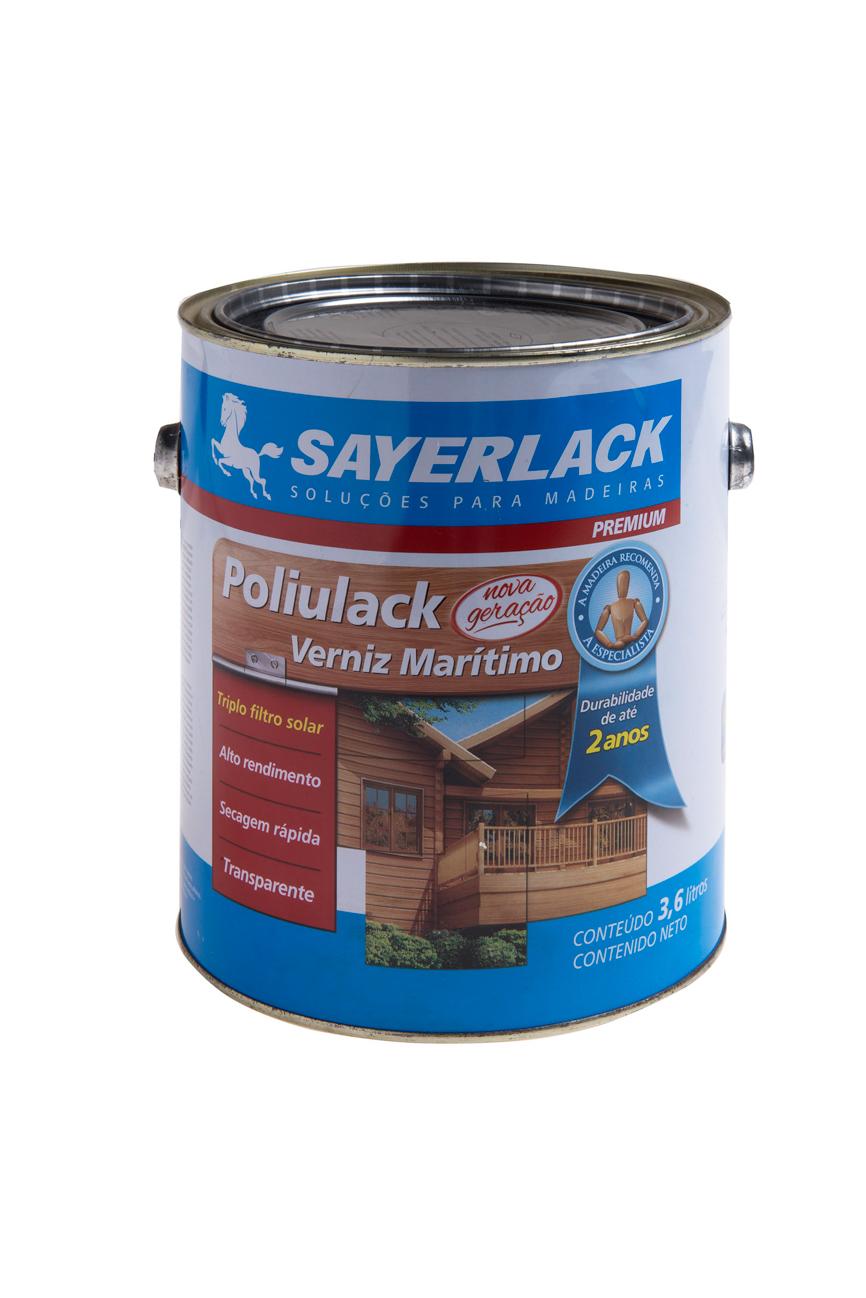 Verniz Poliulack Brilhante Sb 2300-00 - 0,900 Ml
