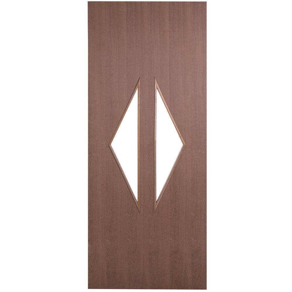 Porta Decorativa de Madeira Sólida Grega