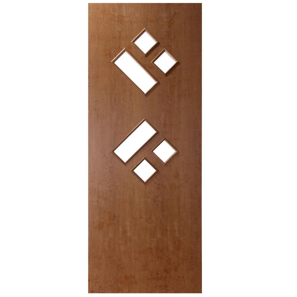 Porta Decorativa de Madeira Sólida Ref33