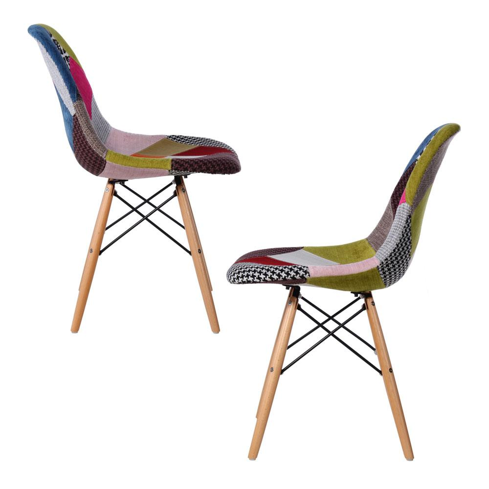 Cadeira Eiffel Patchwork