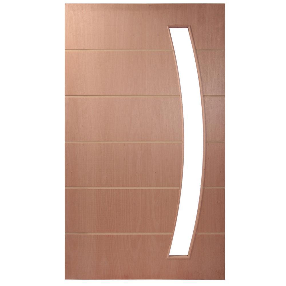 Porta Painel Frisado Pivotante de Madeira PV118
