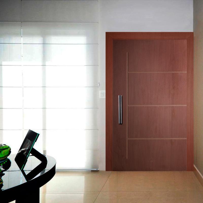 Porta Painel Frisado de Madeira PV09