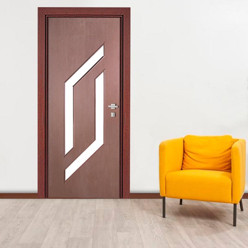 Porta Decorativa de Madeira Sólida Ref56